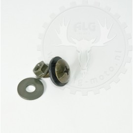 Screw and nut for plasticparts