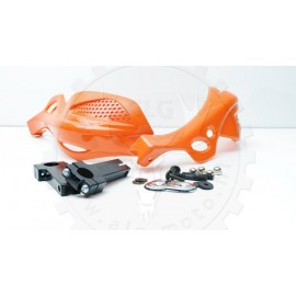 Set handprotectors type 2 orange