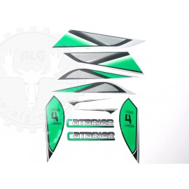 Stickerset Bashan green