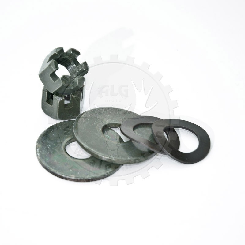 Set nuts for steering knuckles BS200S-7/BS250S-11B