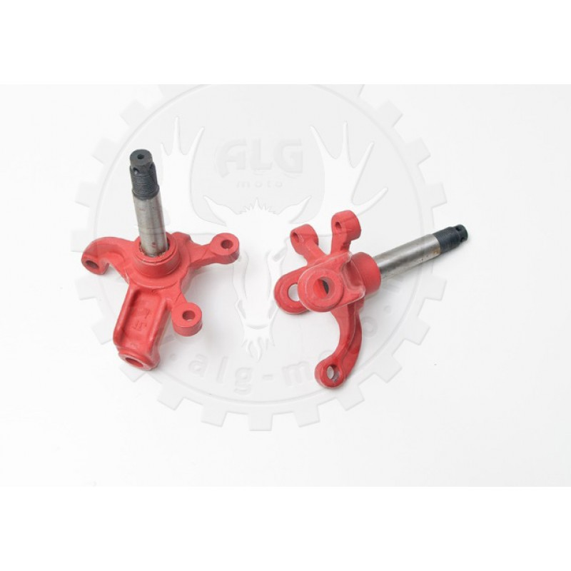 Steering knuckles set red BS200S-7/A
