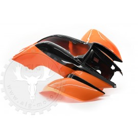 Front fender Bashan BS200S-7/ BS250S-11B orange/black