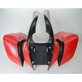 Front fender red BS200S-7