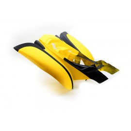 Rear fender Bashan BS250S-11B yellow/black