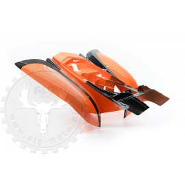 Rear fender Bashan BS200S-7/ BS250S-11B orange/black