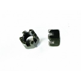 Set of two Castle Nuts M10x1.25